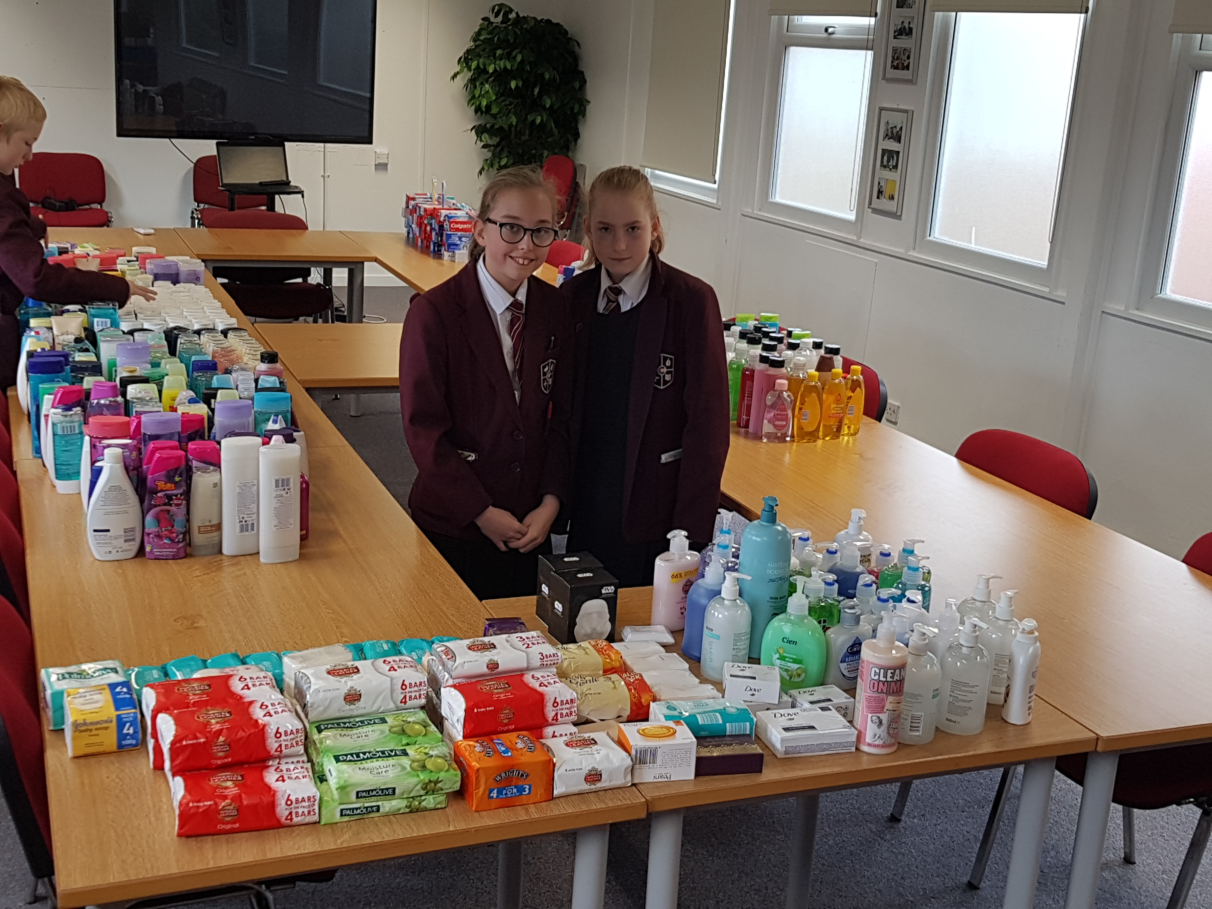 Year 8s collected soaps