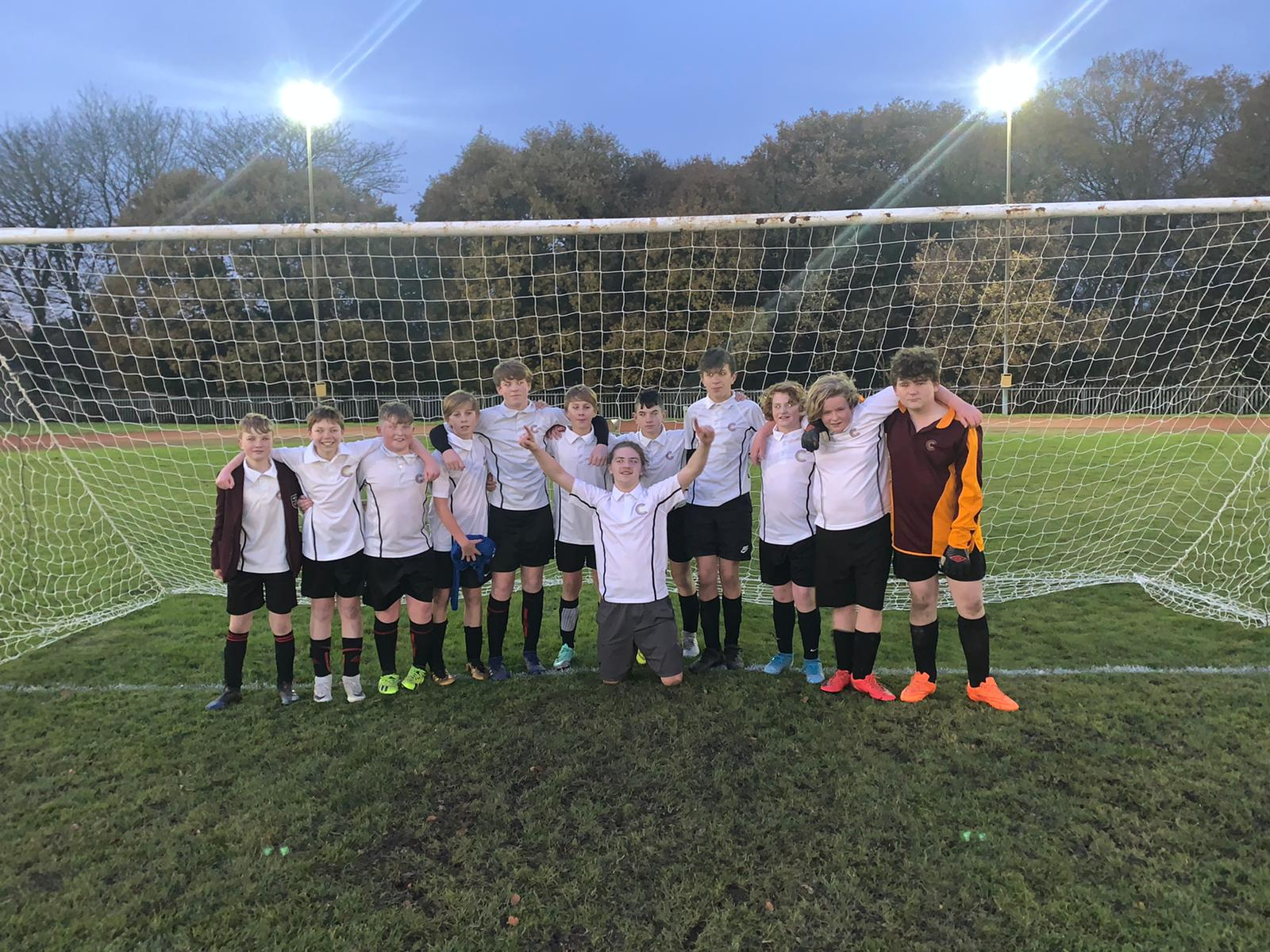 Year 9 St. Cuthbert's Boys Football Team