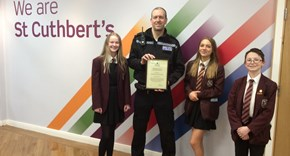 Certificate of Recognition for PC Pender