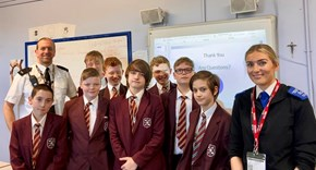 Cyber Prevention Session for Year 8s