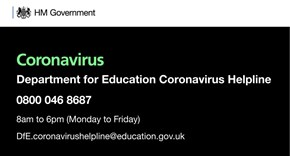 Updated guidance for schools on coronavirus - 16th March 2020