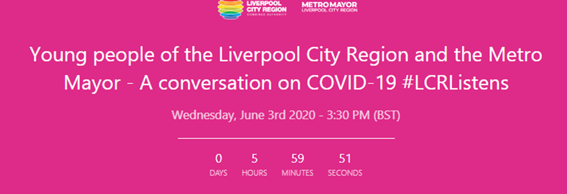 Metro Mayor conversation with young people 3rd June 2020