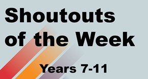 Shoutouts of the Week! #StCuthBEST